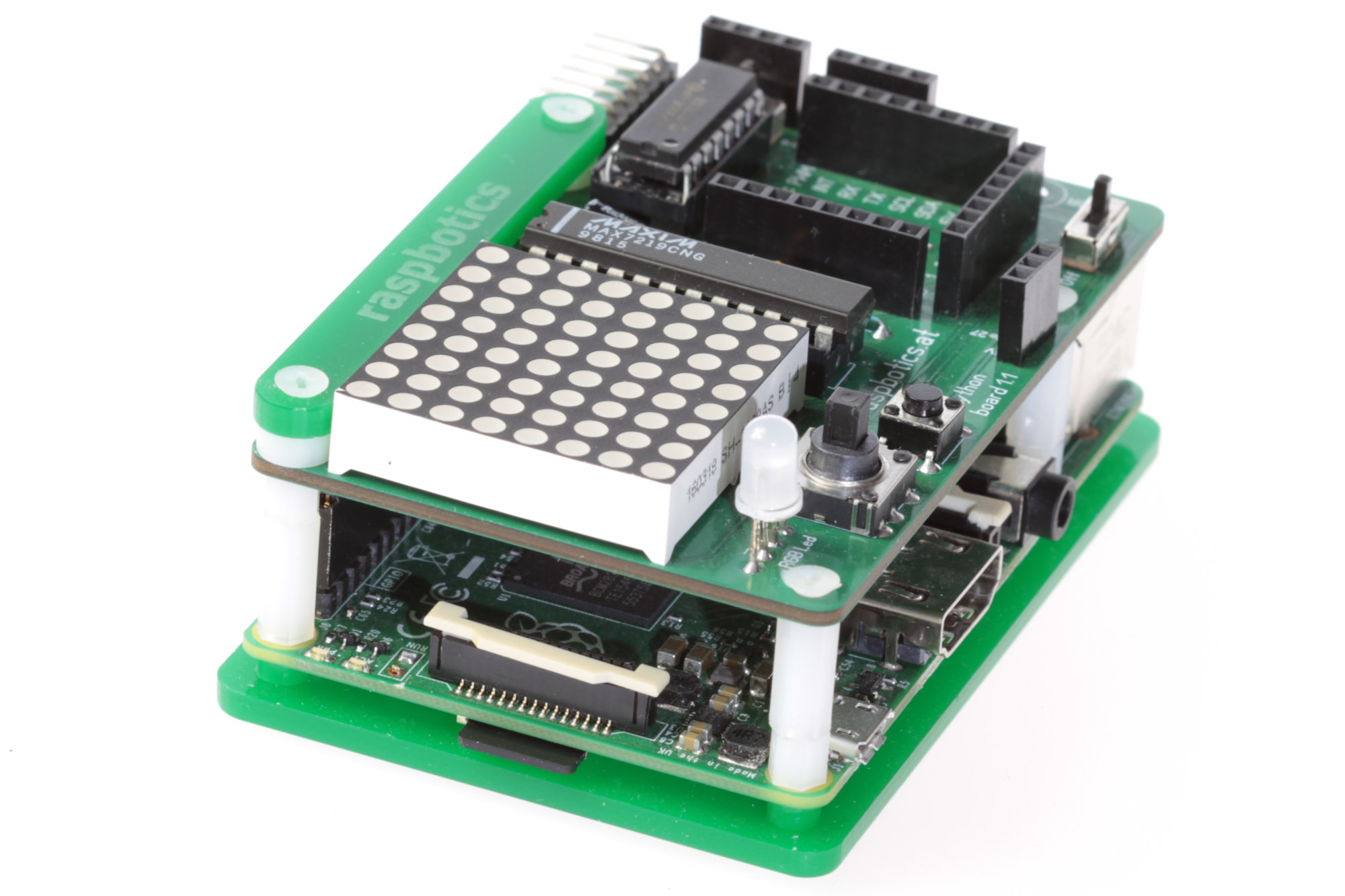 Led Matrix ansteuern mit Python am Raspberry Pi